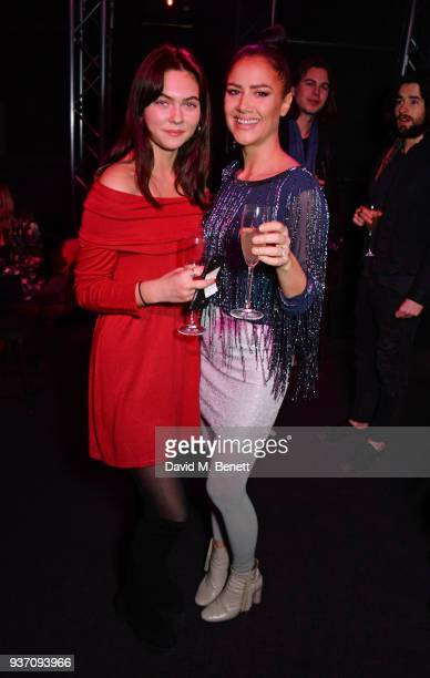 Hannah Murrell and Estelle Rubio attend The Perfumer's Story evening of Scentsory delights hosted by Aures London Azzi Glasser at Sensorium on March...