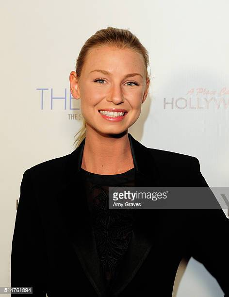 Hannah Noval attends the 5th Annual LANY Entertainment Mixer at St Felix on March 10 2016 in Hollywood California