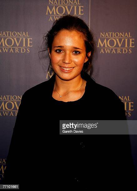 Hannah Olivennes daughter of actress Kristin Scott Thomas arrives at the National Movie Awards at the Royal Festival Hall September 28 2007 in London...