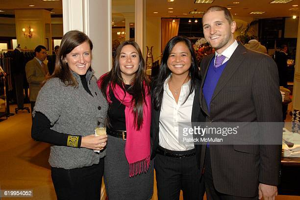 Hannah Parker, Paula Morehouse, Angie Chien and Garrett Calderwood attend BROOKS BROTHERS Supports The Central Park Concervancy at Brooks Brothers on...