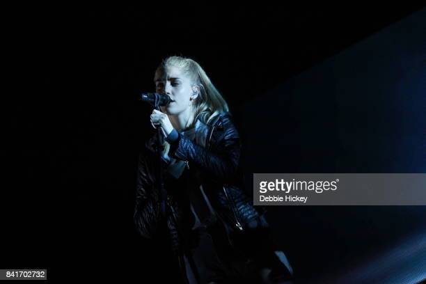 Hannah Reid of London Grammar performs at Electric Picnic Festival at Stradbally Hall Estate on September 1 2017 in Laois Ireland