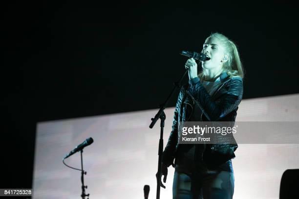 Hannah Reid of London Grammar performs at Electric Picnic Festival at Stradbally Hall Estate on September 1, 2017 in Laois, Ireland.