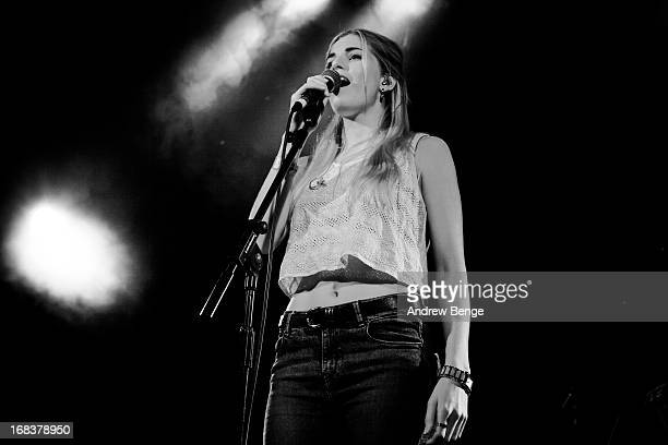 Hannah Reid of London Grammar performs on stage as part of Live At Leeds Festival on May 4 2013 in Leeds England
