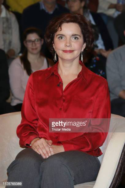 Hannah Reuter during the 'Markus Lanz' TV show on February 18 2019 in Hamburg Germany