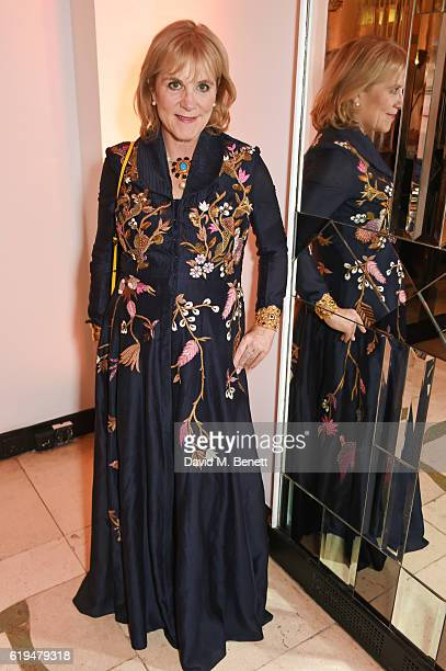 Hannah Rothschild attends the Harper's Bazaar Women of the Year Awards 2016 at Claridge's Hotel on October 31 2016 in London England