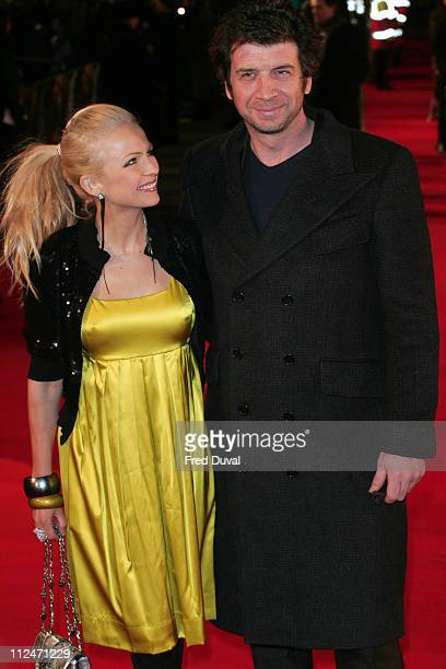 Hannah Sandling and Nick Knowles attend the European Premiere of Defiance at the Odeon Leicester Square on January 6 2009 in London England