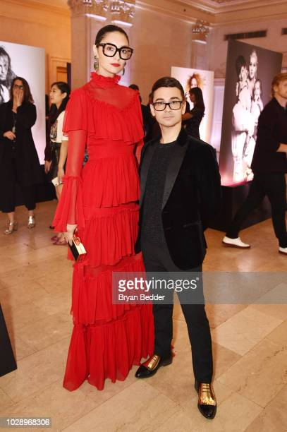 Hannah Schilling and Christian Siriano Christian Siriano attends as Harper's BAZAAR Celebrates ICONS By Carine Roitfeld at the Plaza Hotel on...