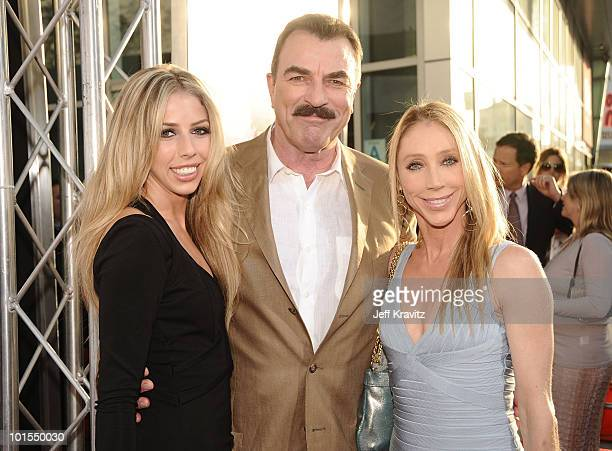 Tom selleck wife stock photos and pictures getty images for Hannah margaret mack selleck photo