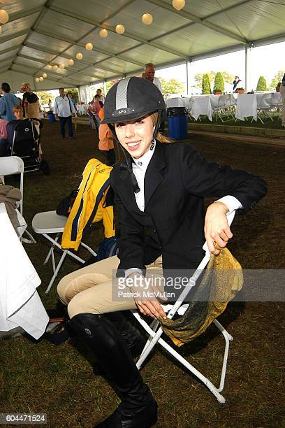 Hannah Selleck attends Hampton Classic Horse Show at Bridgehampton on August 30 2006 in New York City