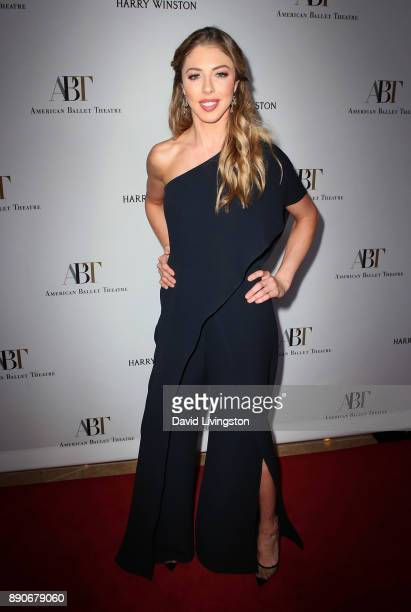 Hannah Selleck attends the American Ballet Theatre's annual holiday benefit dinner and performance at The Beverly Hilton Hotel on December 11 2017 in...