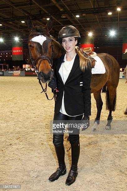 Hannah Selleck attends the International Gucci Masters Competition Day 2 on December 3 2011 in Villepinte France