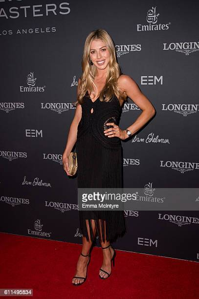 Hannah Selleck attends the Longines Masters Los Angeles at Long Beach Convention Center on September 29 2016 in Long Beach California