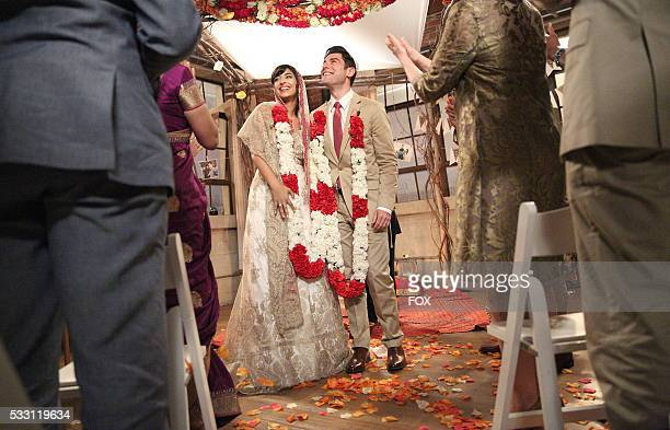 Hannah Simone and Max Greenfield in the season finale Landing Gear episode of NEW GIRL airing Tuesday May 10 on FOX