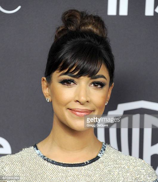 Hannah Simone arrives at the 18th Annual PostGolden Globes Party hosted by Warner Bros Pictures and InStyle at The Beverly Hilton Hotel on January 8...