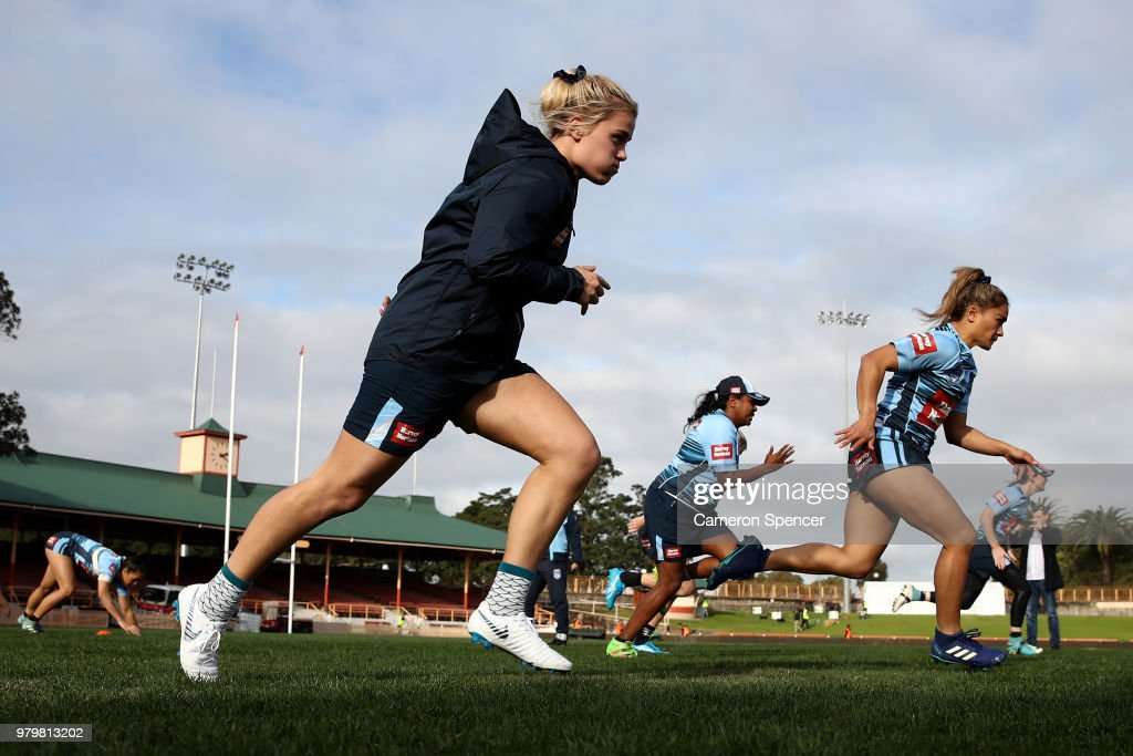 New South Wales Women's State of Origin Captain's Run