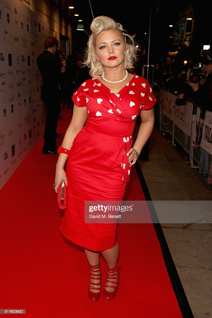 Hannah Spearritt attends the 16th Annual WhatsOnStage Awards at The Prince of Wales Theatre on February 21, 2016 in London, England.