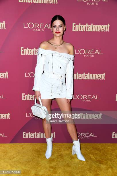 Hannah Stocking attends the 2019 Entertainment Weekly PreEmmy Party at Sunset Tower on September 20 2019 in Los Angeles California
