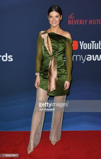 Hannah Stocking attends the 9th Annual Streamy Awards at The Beverly Hilton Hotel on December 13 2019 in Beverly Hills California