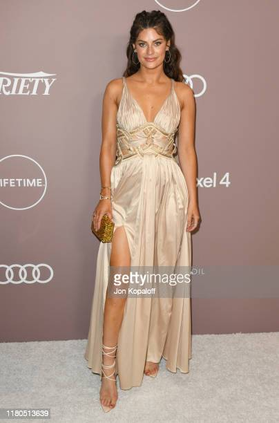 Hannah Stocking attends Variety's 2019 Power Of Women Los Angeles Presented By Lifetime at the Beverly Wilshire Four Seasons Hotel on October 11 2019...