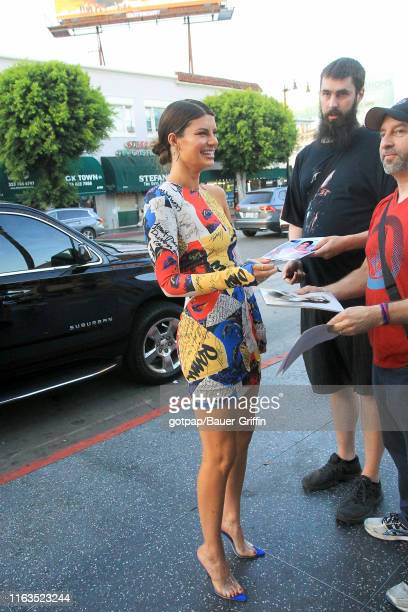 Hannah Stocking is seen on August 23 2019 in Los Angeles California