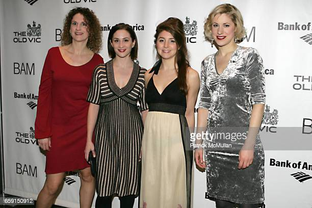 Hannah Stokely Morven Christie Charlotte Parry and Jessica Pollert Smith attend BAM and The Old Vic host The Bridge Project Benefit at BAM on...