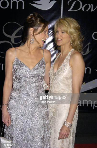 Hannah Storm and Paula Zahn during American Women in Radio Television 30th Annual Gracie Allen Awards at New York Marriot Marquis Hotel in New York...