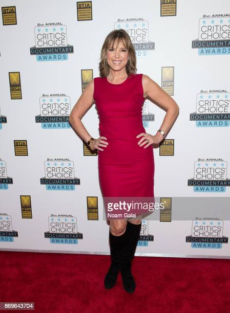 Hannah Storm attends the 2nd Annual Critic's Choice Documentary Awards on November 2 2017 in New York City