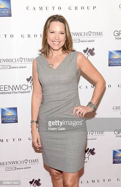 Hannah Storm attends Women at the Top Female Empowerment in Media Panel at the 2016 Greenwich International Film Festival on June 12 2016 in...
