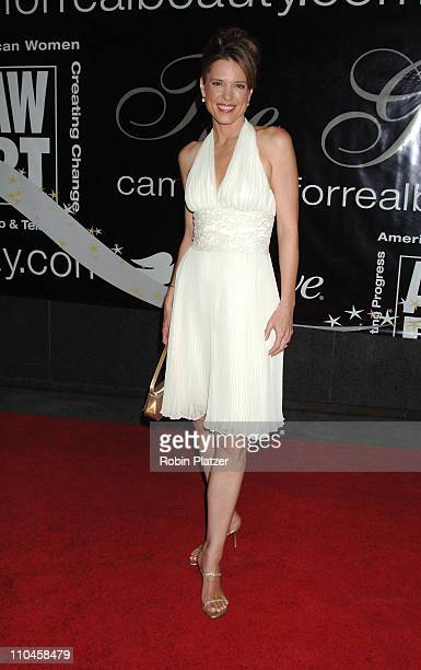 Hannah Storm during 31st Annual American Women in Radio Television Gracie Allen Awards Red Carpet at Marriot Marquis in New York City New York United...