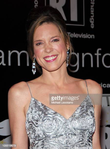 Hannah Storm during American Women in Radio Television's 30th Annual Gracie Allen Awards at The Marriott Marquis in New York City New York United...