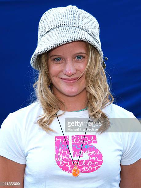Hannah Teter during ESPN The Magazine Presents Summer Fun 2006 Arrivals at The Roosevelt Hotel in Hollywood California United States