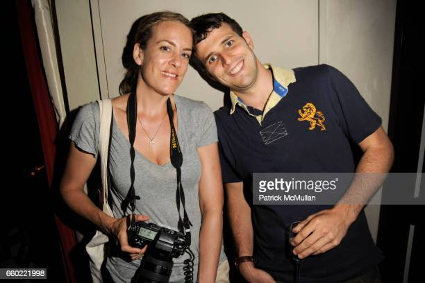 Hannah Thomson and Neil Rasmus attend THE CINEMA SOCIETY BROOKS BROTHERS host the after party for ADAM at Gramercy Park Hotel on July 28 2009 in New...