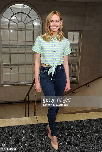 Hannah Tointon attends the launch of Giovanna Fletcher's 'Dream A Little Dream' at on June 18 2015 in London England