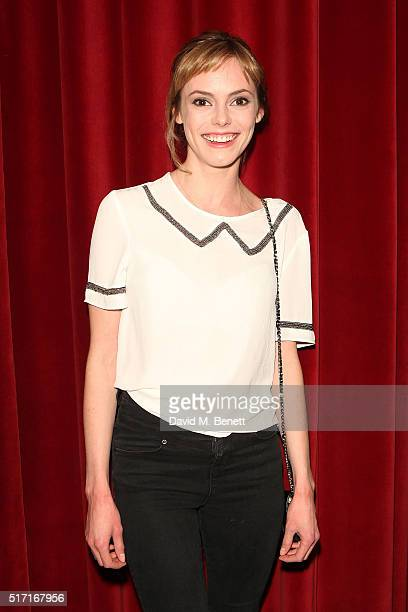 Hannah Tointon attends the press night after party for 'People Places and Things' at The Picturehouse Central on March 23 2016 in London England