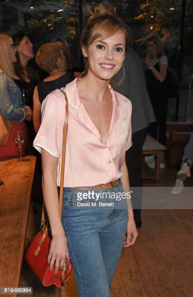 Hannah Tointon attends the press night party for 'Twilight Song' at The Park Theatre on July 17 2017 in London England