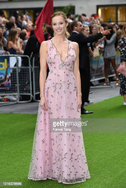 Hannah Tointon attends the World Premiere of 'The Festival' at Cineworld Leicester Square on August 13 2018 in London England