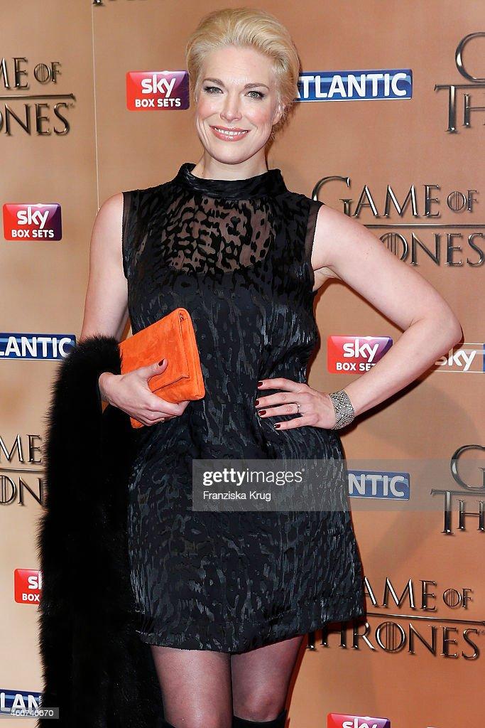 Game of Thrones Season 5 World Premiere In London : News Photo