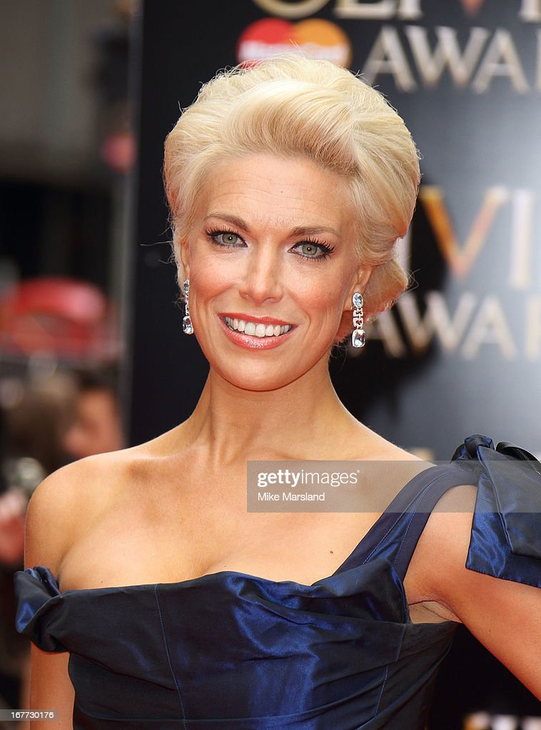 Hannah Waddingham At 'Annie' Press Night, Piccadilly Theatre ...