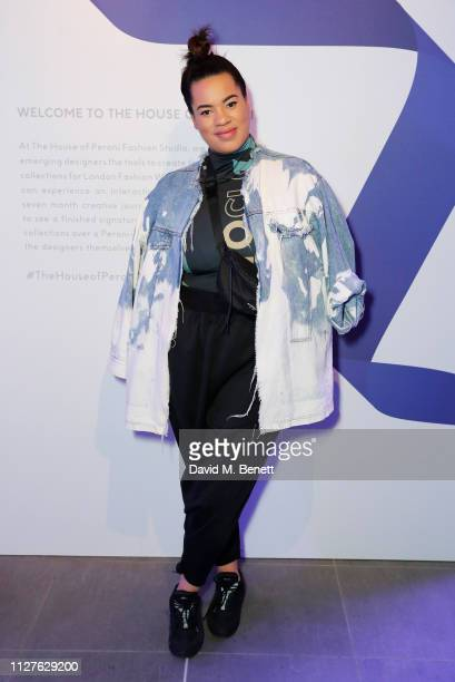 Hannah Wallace attends the launch of The House Of Peroni on February 26 2019 in London England