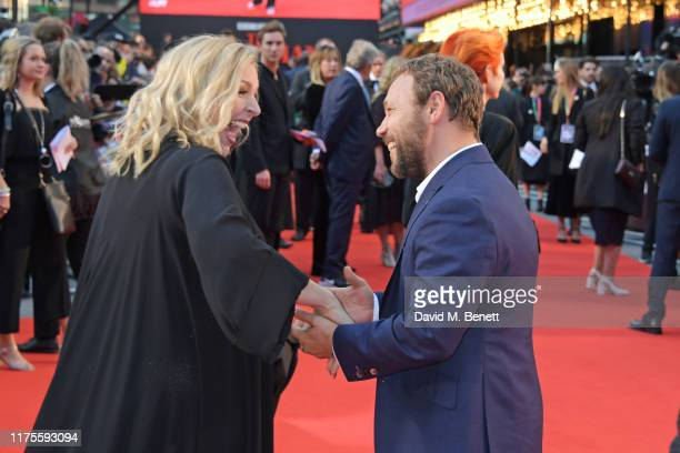 Hannah Walters and Stephen Graham attend the International Premiere and Closing Night Gala screening of NETFLIX's The Irishman during the 63rd BFI...