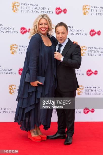 Hannah Walters and Stephen Graham attend the Virgin Media British Academy Television Awards ceremony at the Royal Festival Hall on 12 May 2019 in...
