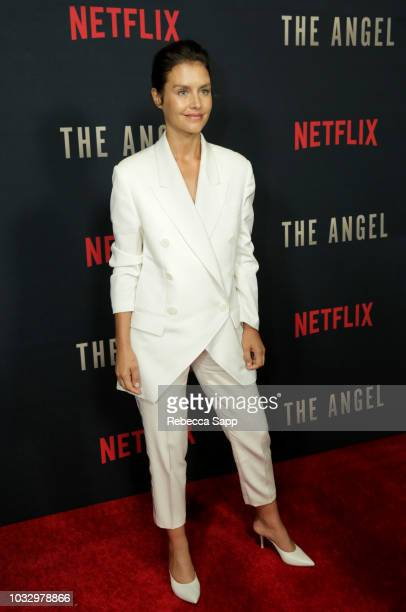 "Hannah Ware attends the Los Angeles Special Screening of Netflix's ""The Angel"" at TCL Chinese Theatre on September 13, 2018 in Hollywood, California."