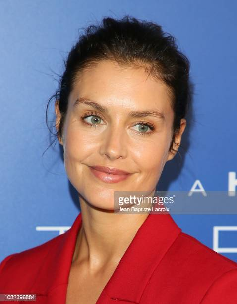 """Hannah Ware attends the premiere of Hulu's """"The First"""" on September 12, 2018 in Los Angeles, California."""