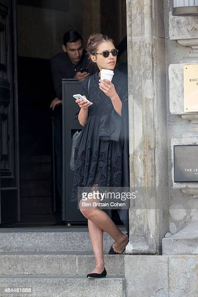 Hannah Ware is seen at Hotel de Rome on August 19, 2015 in Berlin, Germany.