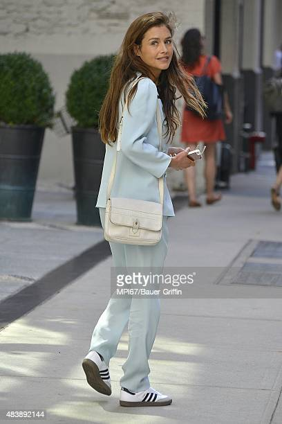 Hannah Ware seen on August 13, 2015 in New York City.