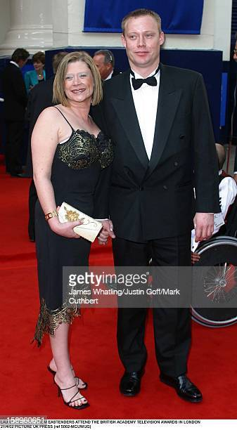 Hannah Waterman Ricky Groves Attend The Bafta Television Awards In London