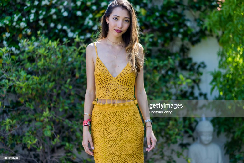 Street Style In Indio, CA - April, 2017 : News Photo