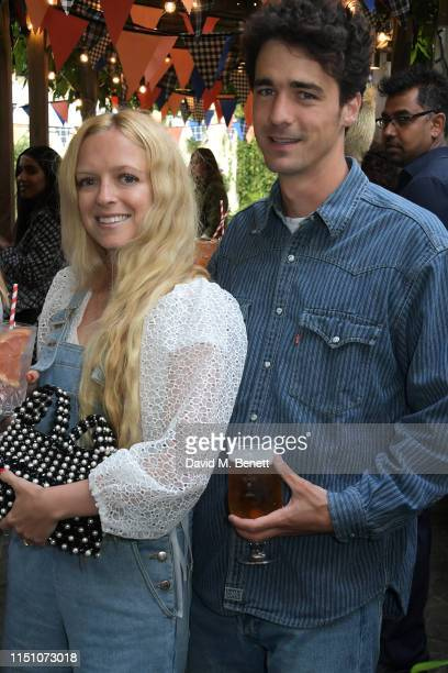 Hannah Weiland and Arthur Guinness attend the VIP London launch of the Barbour by ALEXACHUNG collection at The Albion on June 20 2019 in London...