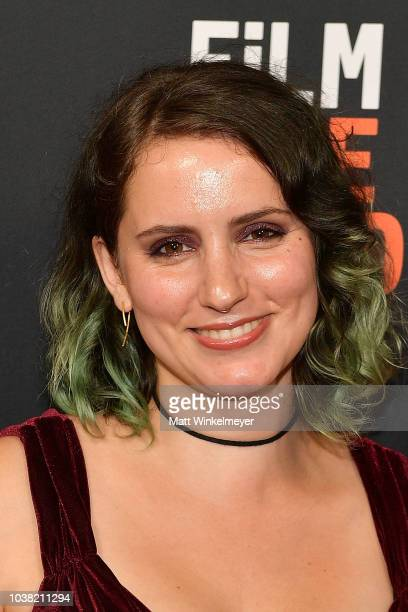 Hannalore GerlingDunsmore attends the 2018 LA Film Festival screening of Behind The Curve at ArcLight Hollywood on September 22 2018 in Hollywood...