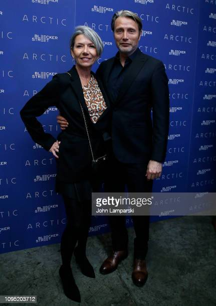 Hanne Jacobsen and Mads Mikkelsen attend 'Arctic' New York Screening at Metrograph on January 16 2019 in New York City